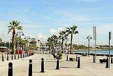 Harbour walkway view