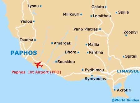 Small Paphos Map