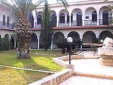 Museum courtyard view