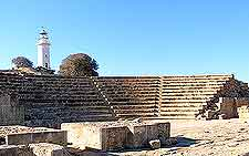 Further image of the ancient Odeon Theatre