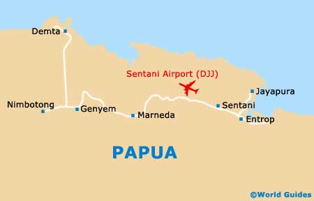 Small Papua Map