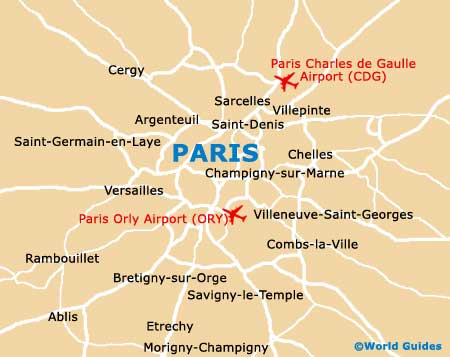 Small Paris Map