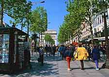 Photo of Paris shopping street