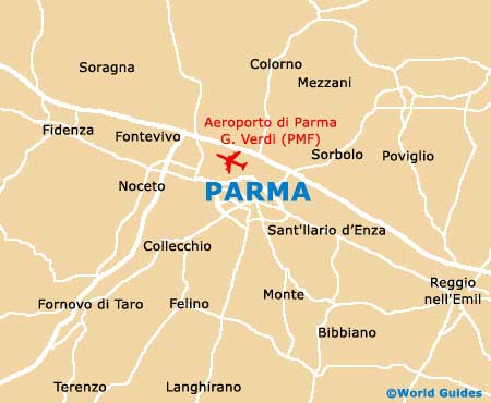 Small Parma Map