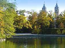 Picture of the Parco Ducale lakefront