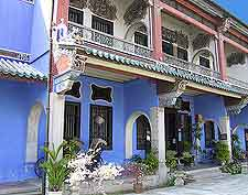 Close-up image of the Cheong Fatt Tze Mansion