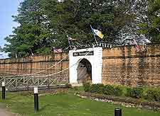 Image of the historic Fort Cornwallis