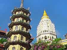 View showing the Kuan Yin Temple