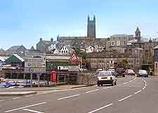 Photograph of the town of Penzance