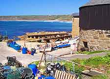 Sennen Cove, part of Penzance's the award-winning coastline