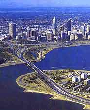 Perth Tourist Map