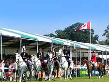 Photo taken at the annual Burghley Horse Trials
