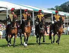 Different picture taken at the Burghley Horse Trials