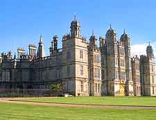 Picture of nearby Burghley House