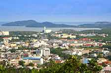 Phuket Airport (HKT) Information: Photo of the city view