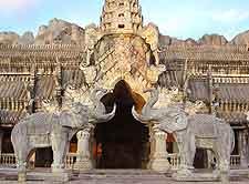 Photo of FantaSea elephant statues