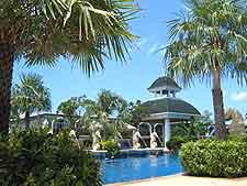 Photo of local hotel complex