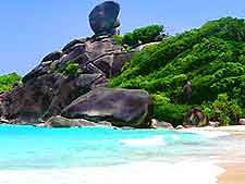 Photo of the Similan Islands National Marine Park