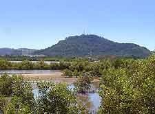 View of Rang Hill in Phuket City