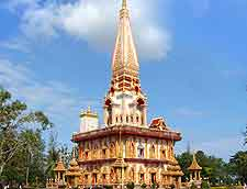 View of the Wat Chalong