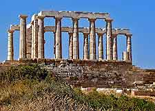Image of Temple of Poseidon ruins