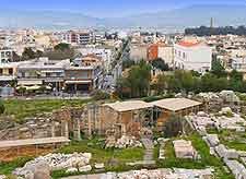 Aerial photograph of Elefsina (Eleusis)