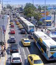 Picture of local Piraeus traffic