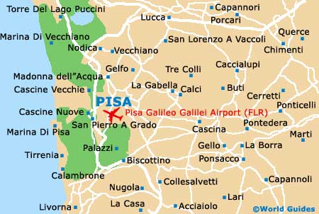 Small Pisa Map