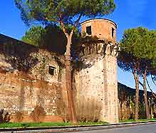 Picture of Pisa's citywalls