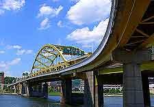 Image of one of the city's numerous bridges