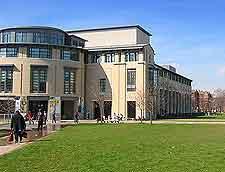 Photograph of the city's Carnegie Mellon University (CMU)