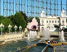 Picture of the Kennywood Amusement Park