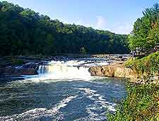 Photo of neighboring Ohiopyle Park and the Youghiogheny River