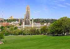 View of Pittsburgh's Shenley Park