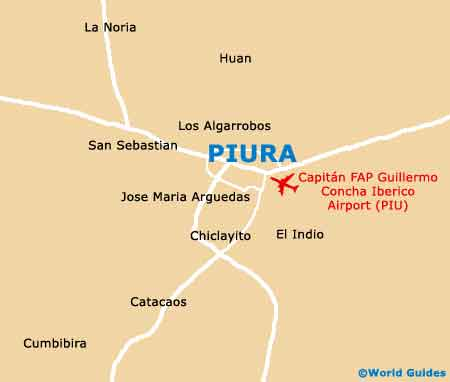 Small Piura Map