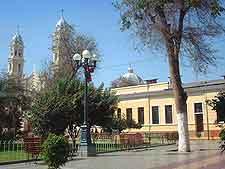 Photo of the Plaza de Armas