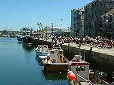 Photo of the Barbican waterfront