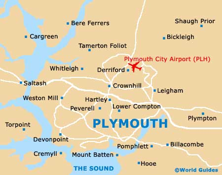 Small Plymouth Map