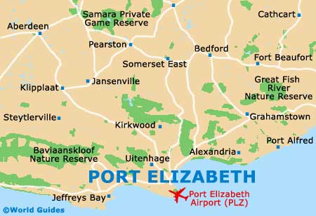 Small Port Elizabeth Map