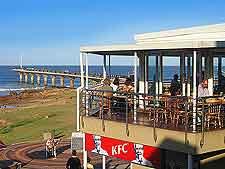 Fast-food beachfront restaurant