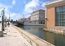 Aveiro situated close to Porto