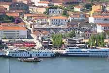 Panoramic view overlooking Porto's River Douro
