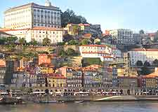 Porto view of Ribeira district