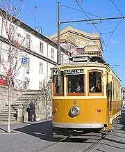 Photograph of a tram