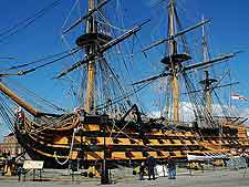 Photo of the famous HMS Victory