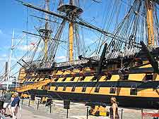 Further picture of the HMS Victory