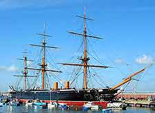 Image of the HMS Warrior
