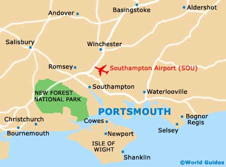 Small Portsmouth Map