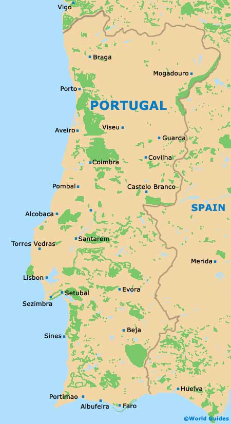 Map Of Lisbon Portela Airport LIS Orientation And Maps For LIS - Portugal map with airports