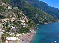 Further image of the Positano coast